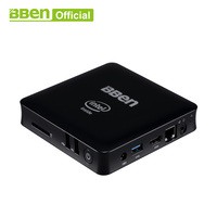 Bben мини компьютер Mn11 Z3850 4 ядра 2 г/4G RAM 32/64g EMMC Встроенная память Mini PC Windows10 Lan ТВ коробка USB3.0 WI FI настольного компьютера в поле