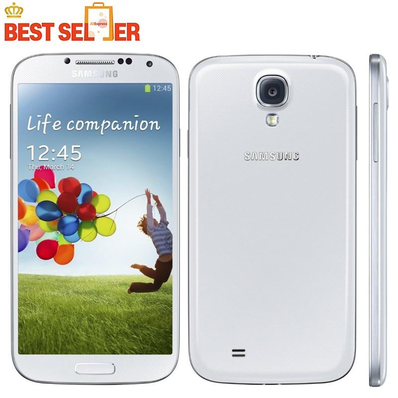 bilder für Ursprüngliches Entriegeltes Samsung Galaxy S4 SIIII I9500 Handy Quad-core 13MP Kamera 5,0 ''2 GB 16 GB NFC WIFI GPS Renoviert Handys