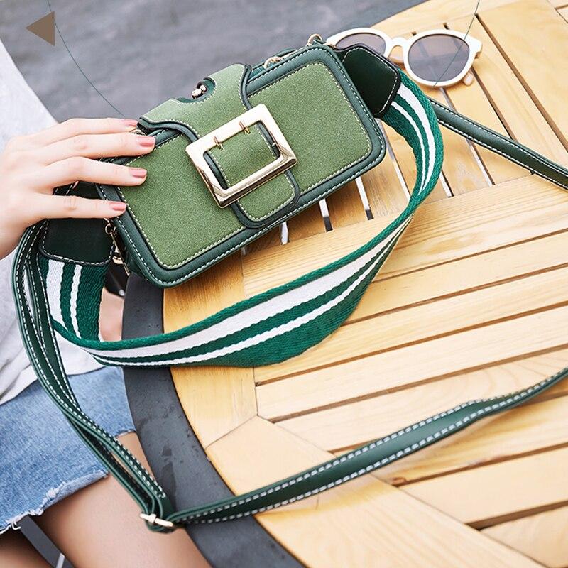 LYKANEFU Vintage Women Messenger Bags with 2 Straps Women Bag Belt Frame Handbag Female Purse Clutch Purses Ladies Shoulder Bags