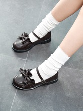 2019 New Japanese Style College Student Shoes w/Bowknot JK Uniform Shoes Girls Cosplay Lolita Shoes Platform Shoes Size 35-40 все цены