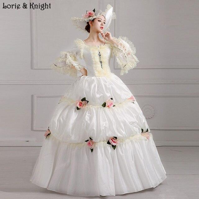 Holy White Princess Royal Ball Gowns Bridal Dress Sissi Princess Dress Masquerade Ball Gown