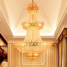 hot deal buy crystal chandelier lights fixture modern chandelier led lamps home indoor lighting long hanging light ac90v-260v d100cm h150cm