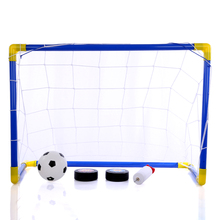 Rowsfire 2 In 1 Kids Sports Soccer & Ice Hockey Goals With Balls And Pump Practice Scrimmage Game For Children ddc3 2 pump with ice top and barrow pcb