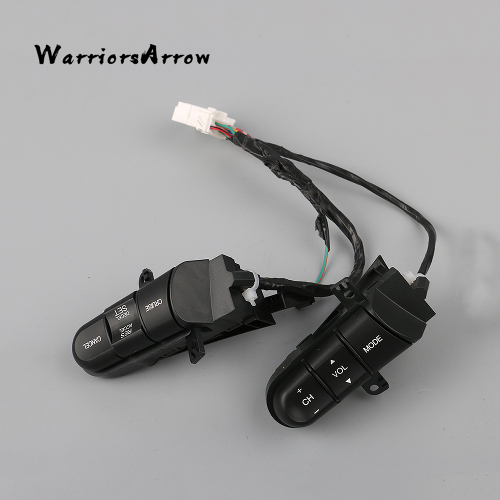 Buy Warriorsarrow Multi Function Steering Wheel Honda Civic Cruise Control Wiring Audio Switch For 2006 2008 2009 2010 2011 36770 Sna A12 From