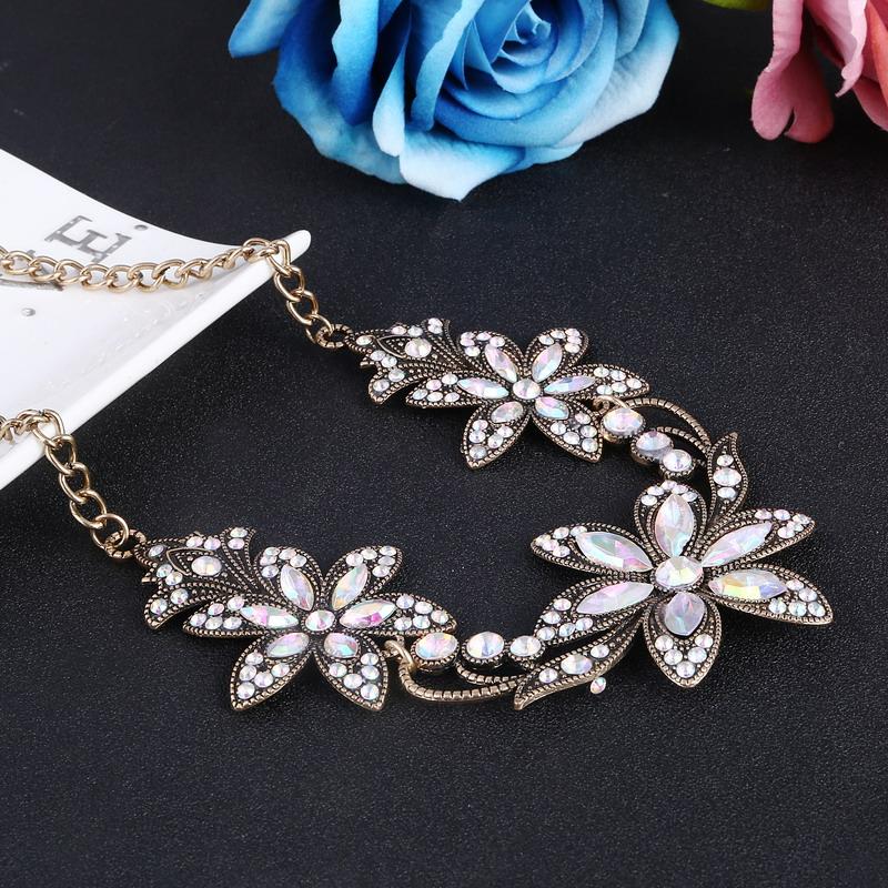 19 Fashion Designer Chain Choker Statement Necklace Women Necklace Bib Necklaces & Pendants Gold Silver Chain Vintage Jewelry 26