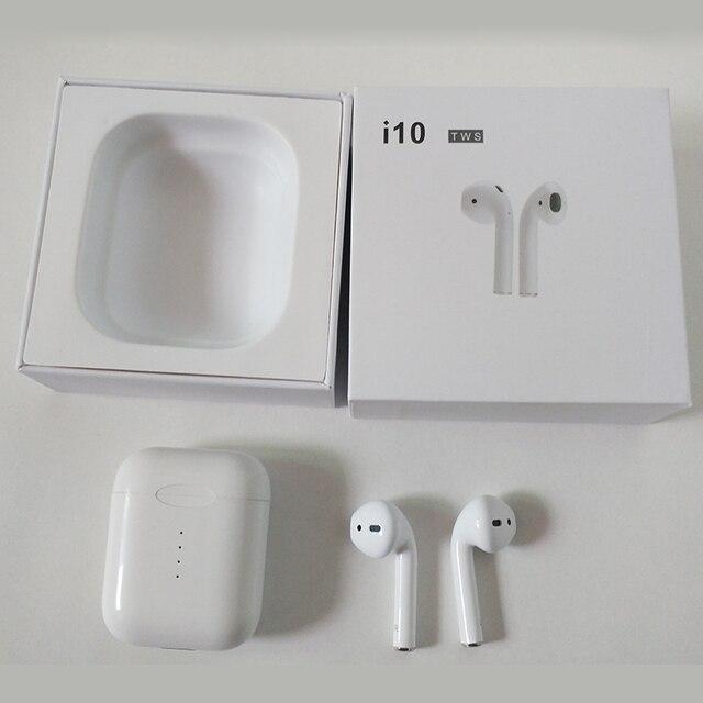 Mini M9X I10 TWS Air. Gousses Sans Fil Bluetooth Écouteur Tactile Contrôle Auto Pairing Airbuds Stéréo Écouteur Pour iPhone Android