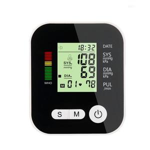 Image 4 - Arm Blood Pressure Monitor tonometer Medical Equipment Apparatus for Measuring Pressure LCD Monitor Heart Beat Meter Machine