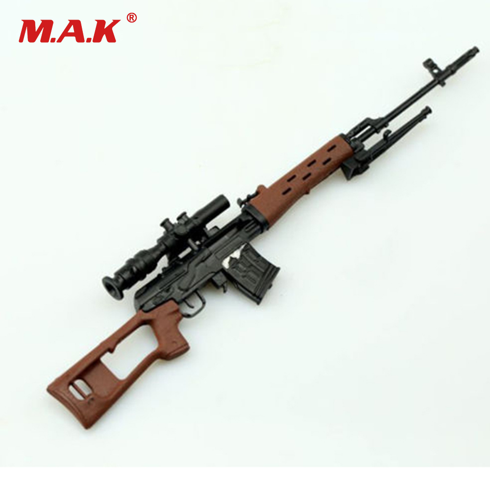 16 Scale SVD Sniper Rifle Gun Model Toy Weapon For 12 Soldier Action Figure In Action Amp Toy
