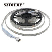 SZYOUMY 5M SMD 5050 54LEDs/M RGB Running Horse Race Strip IP65 RGB LED Strip + 25key IR Controller +1pcs 12V 5A Power Adapter