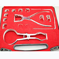 1 set Dental Rubber Dam Perforator Puncher Teeth Care Pliers Dentist Lab Device Instrument Equipment New