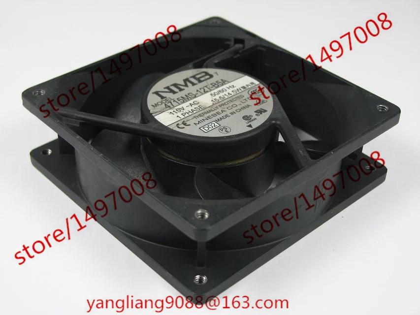 4715MS-12T-B5A, D02 AC 115V 15.5/14.5W Server Square Fan ebmpapst 4600n ac 115v 20w 119x119x38mm server square fan