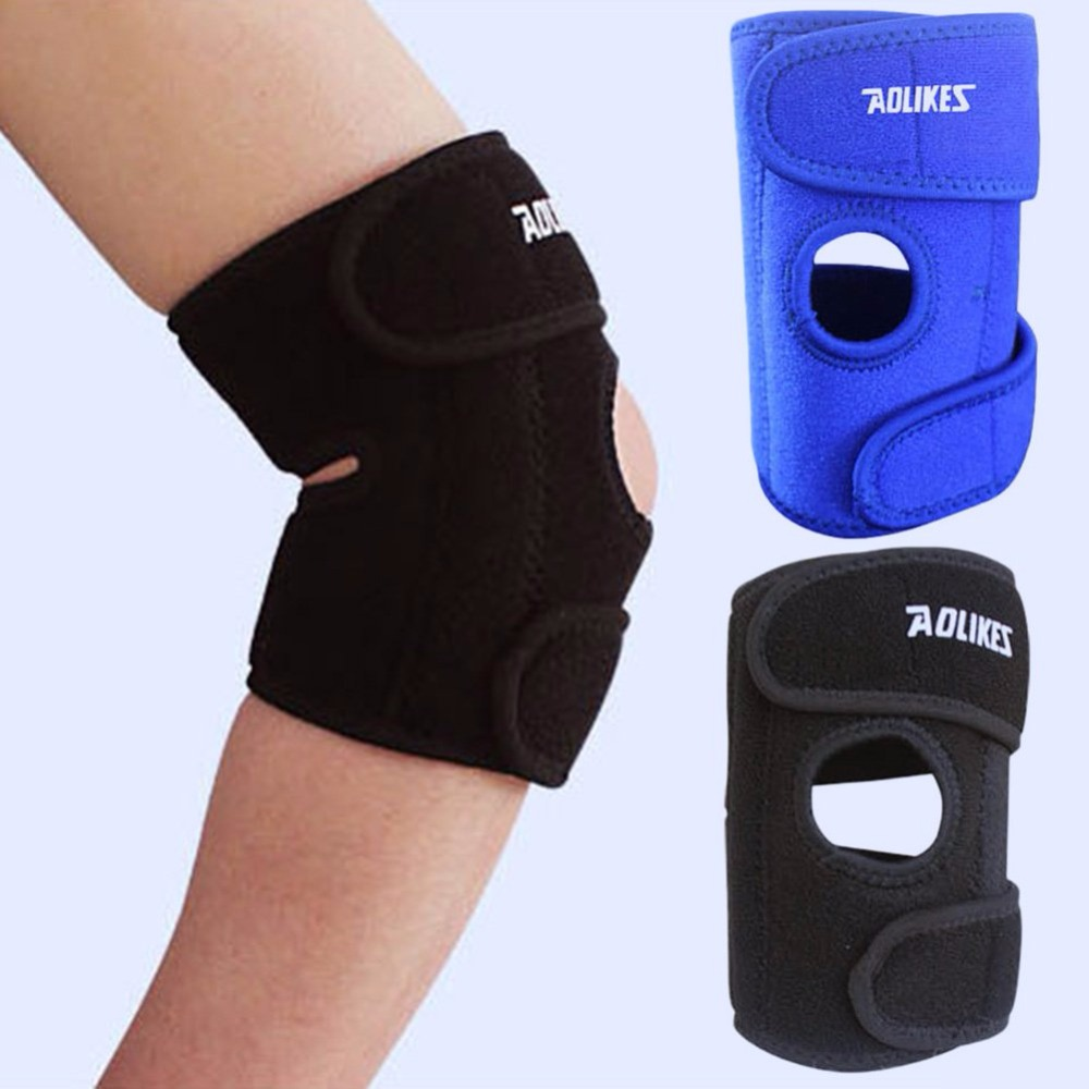 Adjustable Unisex Neoprene Elbow Support Wrap Brace Gym <font><b>Sport</b></font> <font><b>Injury</b></font> Pain Suitable For Almost Any <font><b>Sports</b></font> Basketball Tennis Etc image