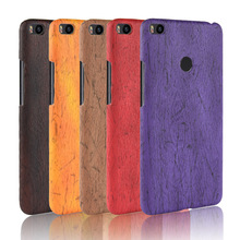 For Xiaomi Mi Max 2 Max2 Case Hard PC+PU Leather Retro wood grain Phone Case For Xiaomi Mi Max 2 Max2 Cover Luxury Wood Case все цены