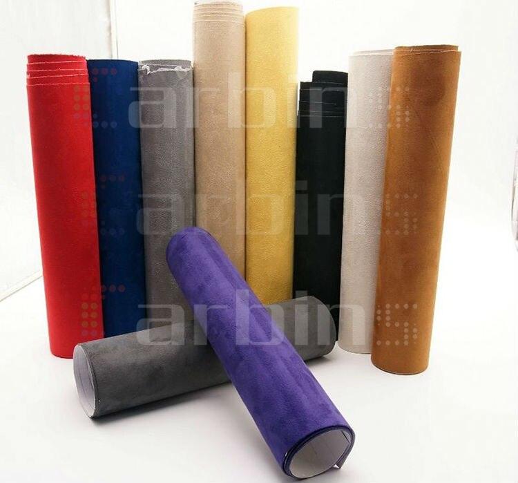 alcantara carbins 10 kleuren vinyl wrap folie met lijm alcantara sude voor auto interieur decoratie in alcantara carbins 10 kleuren vinyl wrap folie met