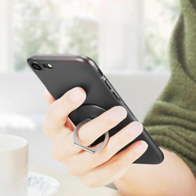 Anel de dedo móvel suporte phone holder suporte para telefones aderência acessórios de montagem de telefone celular smartphone celular round um presente