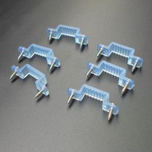 screw + connector plastic clips / fixed pins.for led strips