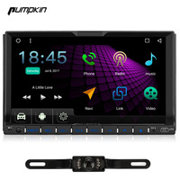 2017 New Pumpkin 7 Inch 2 Din Multi Touch Motorized Screen Quad Core 1 6GHz Android
