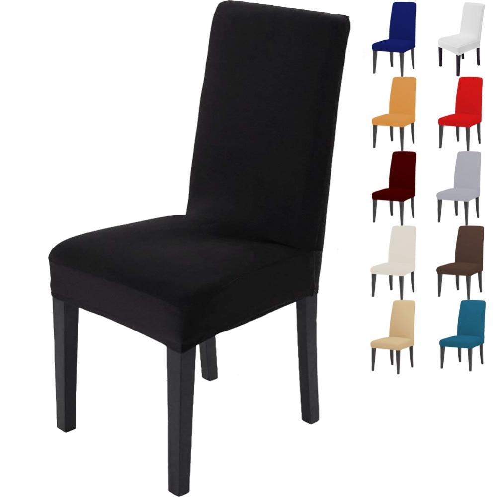 Amduine чехлы для стульев удобные морщин стойкие капюшон из спандекса съемный стрейч обеденная свадебный банкет Чехлы стульев