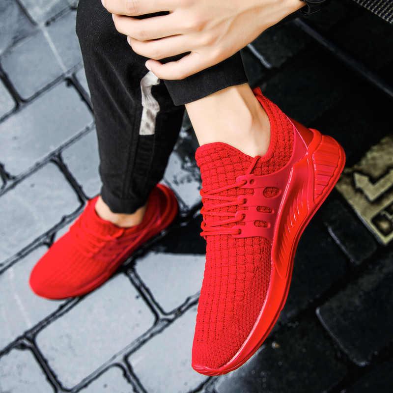 Мужская повседневная обувь из сетчатого материала; Мужская Спортивная обувь без застежки; кроссовки на платформе; Tenis Masculino Adulto Esportivo Basket