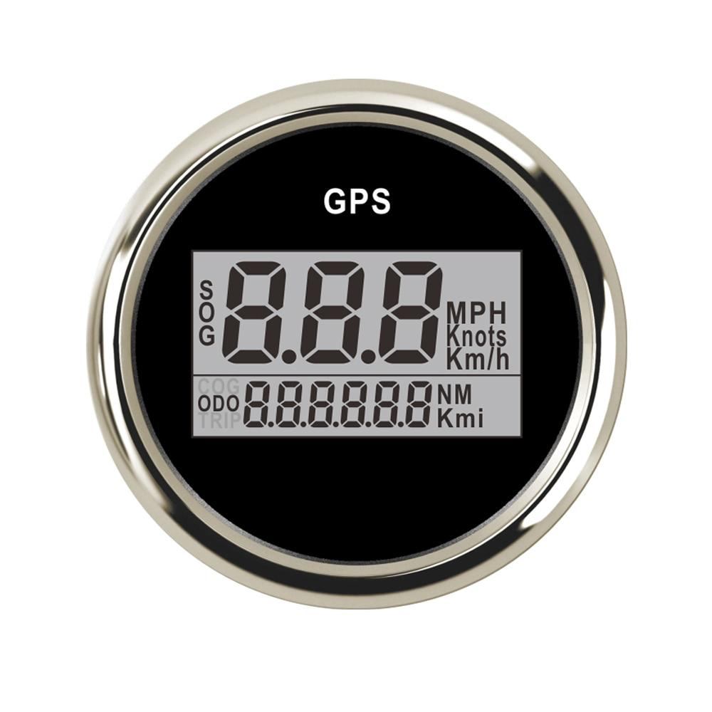 Здесь продается  52 mm Universal Digital GPS Speedometer Odometer fit  Car Boat GPS Speed Sensor With Backlight 316 L 9-32V KM/H Adjustable  Автомобили и Мотоциклы