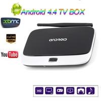 Nowy CS918 Android 4.4 Smart TV Box Quad Core PAMIĘĆ RAM 1 GB ROM 8 GB 1080 P RK3188T 4 K Odtwarzacz Multimedialny hd Q7 Android TV Box
