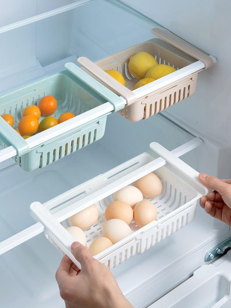 kitchen storage rack organizer kitchen organizer rack kitchen accessories organizer shelf storage rack fridge storage shelf box (7)