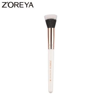 Zoreya Brand Duo Fiber Brushes Multi-function Makeup Brush For Foundation Powder Eyeshadow Blusher Tool