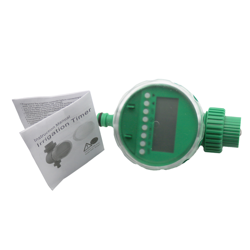 Lcd Display Intelligent Digital Water Timer Electronic Solenoid Garden Irrigation System Water Saving Flow Controller