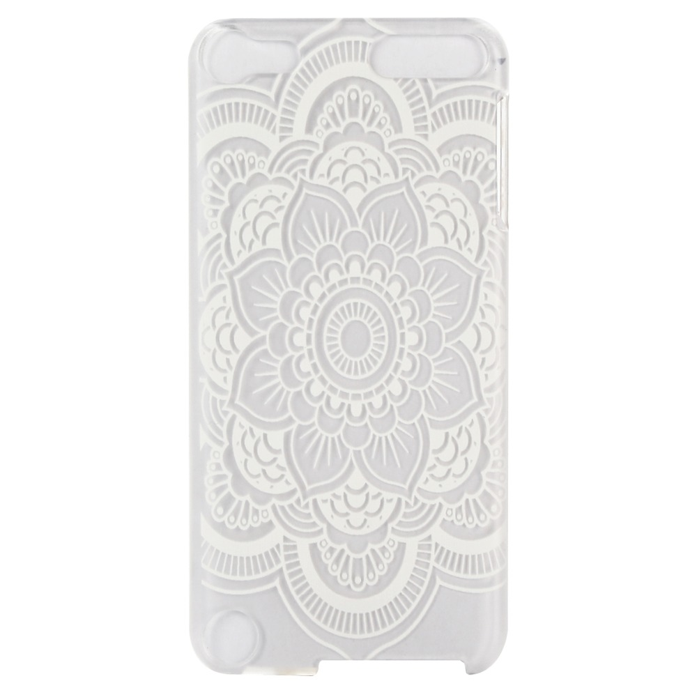 buy popular 891ee f84b8 US $1.0 |New Henna Flower Elephant Clear Plastic Case for iPod Touch 5 6  Hard Transparent Covers Customized Image Suppoted on Aliexpress.com |  Alibaba ...