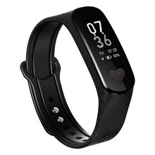 цена B9 Smart Bracelet Fitness Activity Tracker Bluetooth smart band ECG PPG Heart Rate Blood Pressure Monitor wristband онлайн в 2017 году