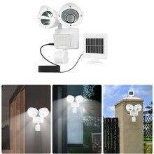 цена на 42 LED PIR Detector Solar Security Lamp Solar Spot Light Motion Sensor Floodlight Outdoor /indoor Lighting for Garden Yard White