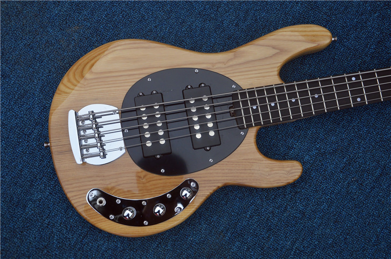 The sales leader Nature Tree Music Man stingrey5 bass Guitar 5 string electric bass Lefty Guitar Custom available стоимость