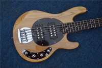 The sales leader Nature Tree Music Man stingrey5 bass Guitar 5 string electric bass Lefty Guitar Custom available