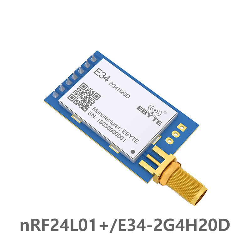 E34 2G4H20D nRF24L01 2.4G Automatic frequency hopping Long Range Wireless Transceiver Module Automatic Retransmit-in Fixed Wireless Terminals from Cellphones & Telecommunications