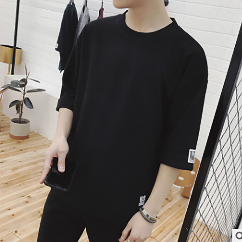 Men 39 s Cotton Solid Color T shirt Top T shirt Menswear Men 39 s T Shirt Men Fashion Tshirts Fitness Casual For Male T shirt M 2XL in T Shirts from Men 39 s Clothing
