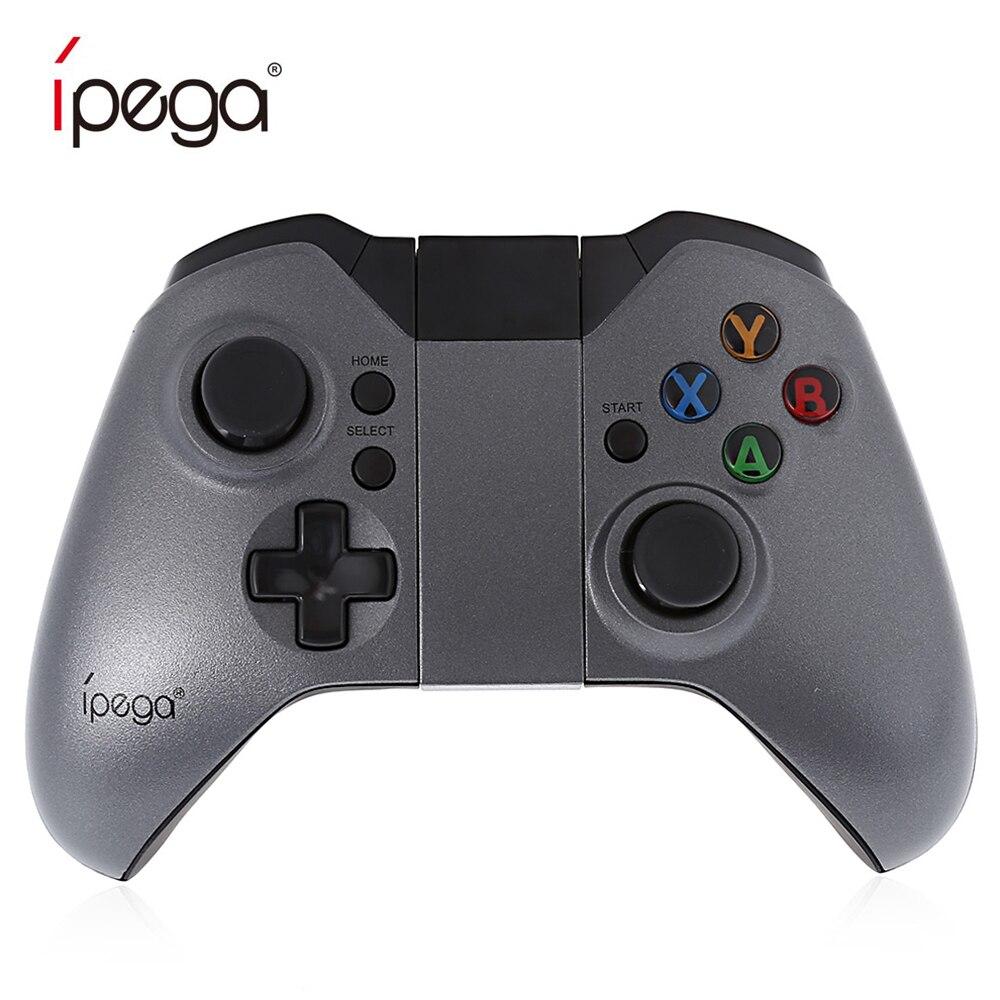 IPEGA PG-9062 manette de jeu sans fil Dark Fighter contrôleur de jeu Bluetooth pour téléphone Android et Android TV avec manette de Clip de téléphone