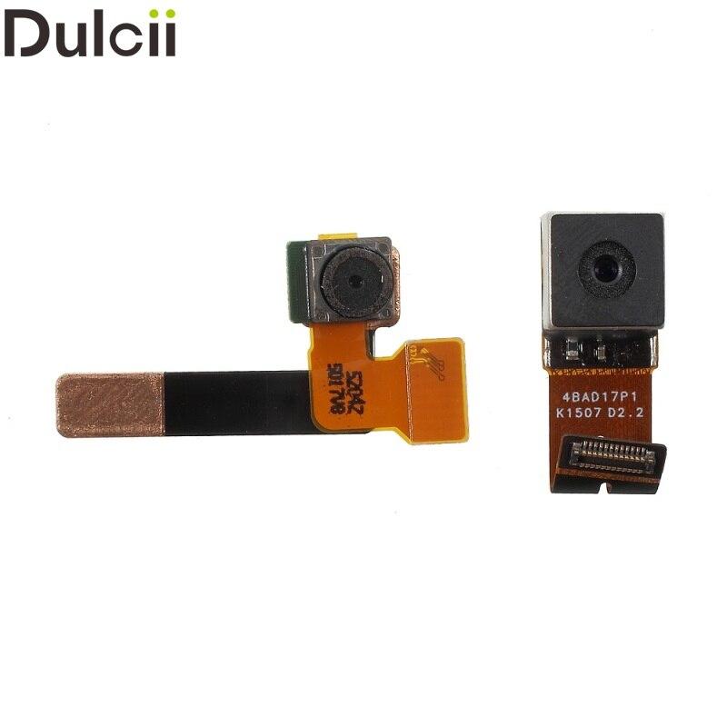 Dulcii Mobile Phone Parts for Microsoft Lumia 640 Rear Big Camera + Front Facing Camera Set for Microsoft Lumia 640 XL (OEM )