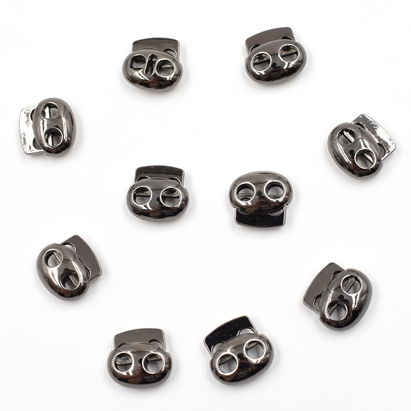 (10 pieces/lot)Metal holes. Alloy hanging tablets. Spring deduction. rope. Down. Elastic rope. Snaps. Hat snap