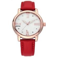 New Brand Luxury Women's Dress Watches Fashion Rhinestone Quartz Watches for Ladies Leather Strap Casual fashion Wrist Watches