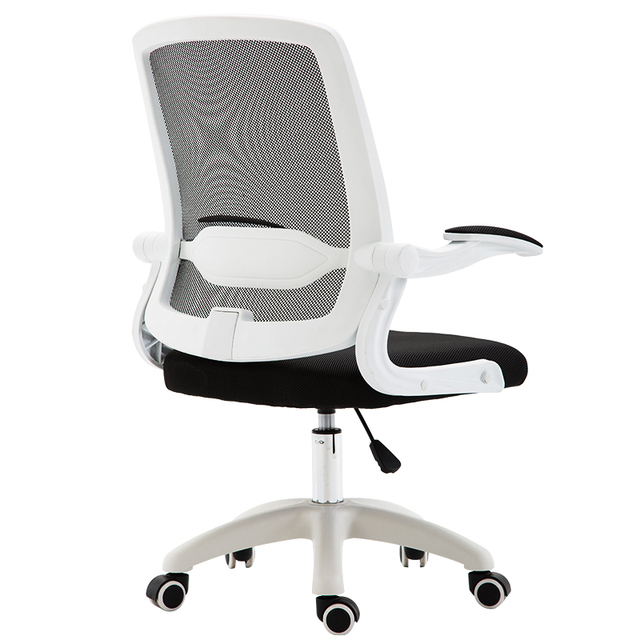 lumbar support office chair luxury chairs melbourne mid back swivel task desk computer ergonomic mesh with
