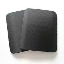 1 Piece 2.3mm 25x30cm Bullet Proof Steel Plate Light Bulletproof Panel