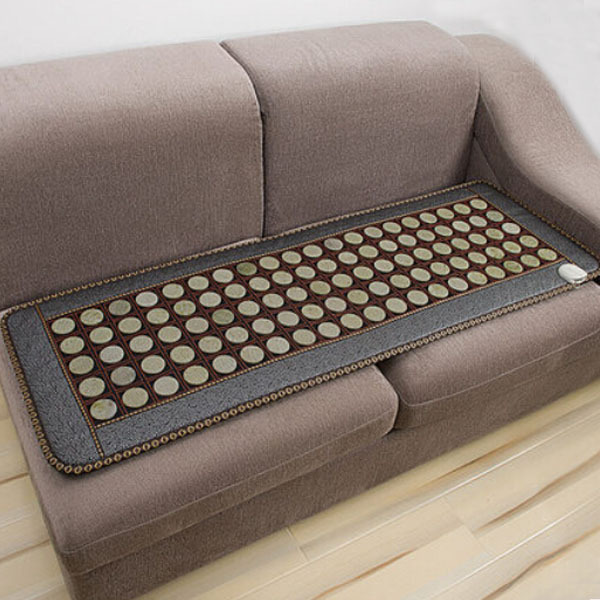 2016 Health Care Mat! Natural Jade Mat Heat Jade Sofa Cushion Physical Therapy Mat Pad Heat Mat Free shipping good quality natural jade mat tourmaline heat chair cushion far infrared heat pad health care mat ac220v 45 45cm free shipping