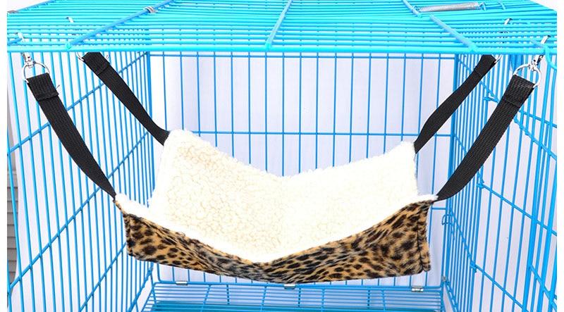4 цвета, зимний теплый подвесной коврик для кошки, мягкий и удобный гамак для кошки, для питомца, котенка, кровать клетка, чехол, подушка - Цвет: Серый