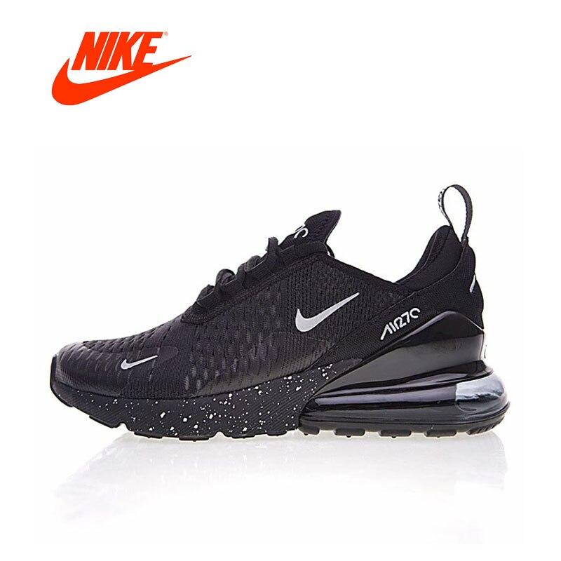 Оригинал Новое поступление Аутентичные Nike Air Max 270 мужские кроссовки для спорта и отдыха Удобная дышащая хорошее качество