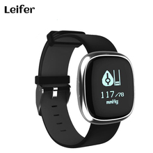Бесплатная доставка P2 смарт-браслет Фитнес трекер Приборы для измерения артериального давления Часы Bluetooth здоровья браслет Водонепроницаемый PK miband 2