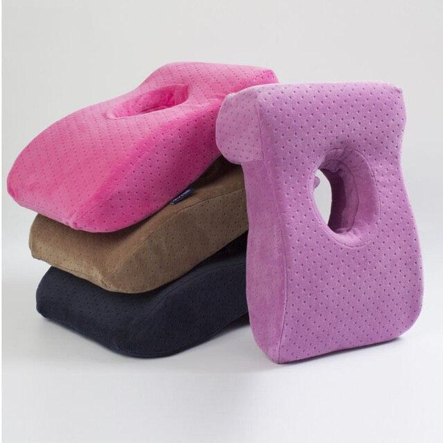 office nap pillow. Multifunctional Travel Memory Pillow Office Nap L Shape Slow Rebound Foam For Desk F