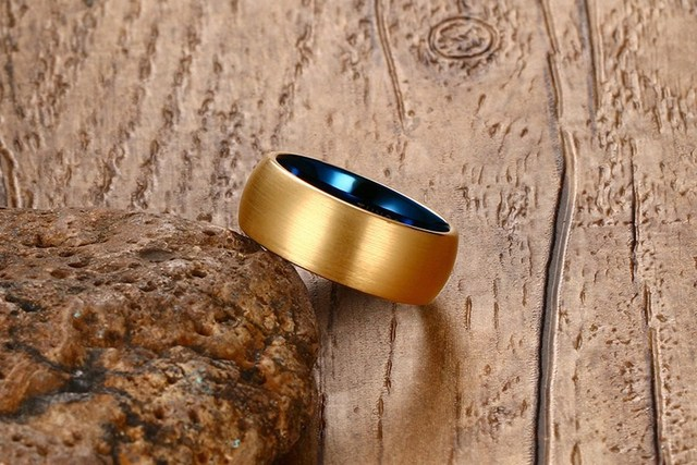Купить мужское кольцо с вольфрамовым покрытием размеры 7 8 9 10 11