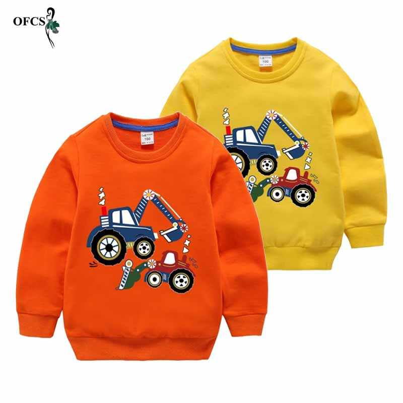 Retail Herfst Winter Warm Trui 2-15 T Oude Kinderen Lange Mouw Cartoon Print School Baby Fleece Knappe Kids jongen Truien
