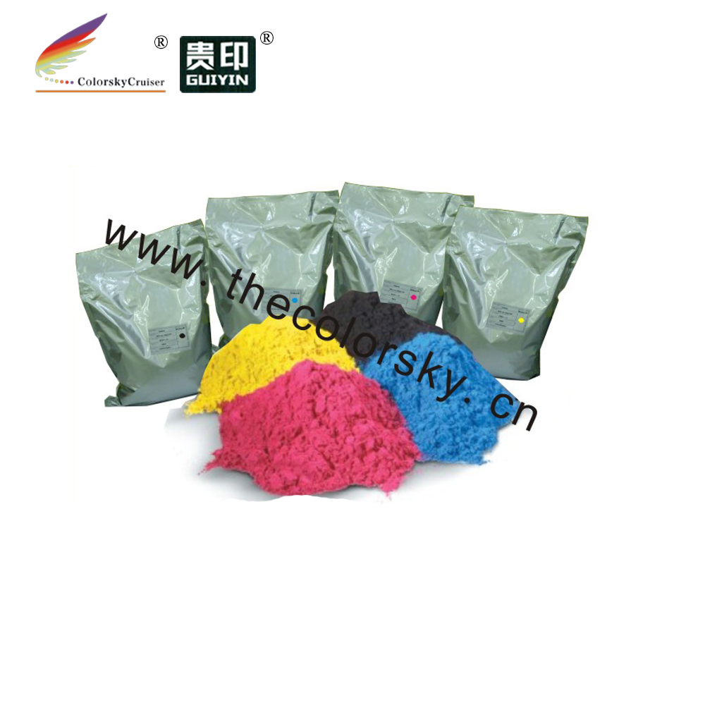 (TPXHM-7120) color copier laser toner powder for Xerox 7120 7125 bk/c/m/y 1kg in aluminum bag per color .