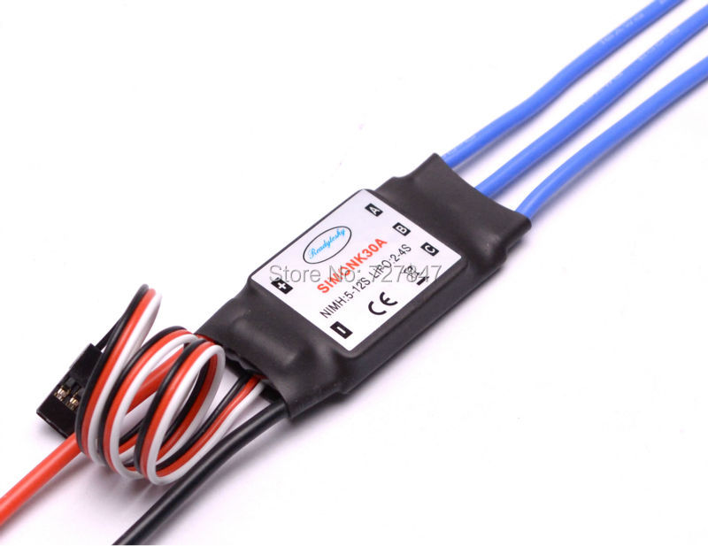 30A SimonK Prgramme RC Brushless ESC With BEC 2A For Axis Quadcopter Multicopter